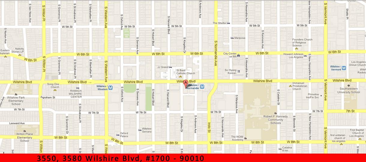 90010 Zip Code Map.Los Angeles